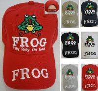 FROG Hat [Fully Rely on God]